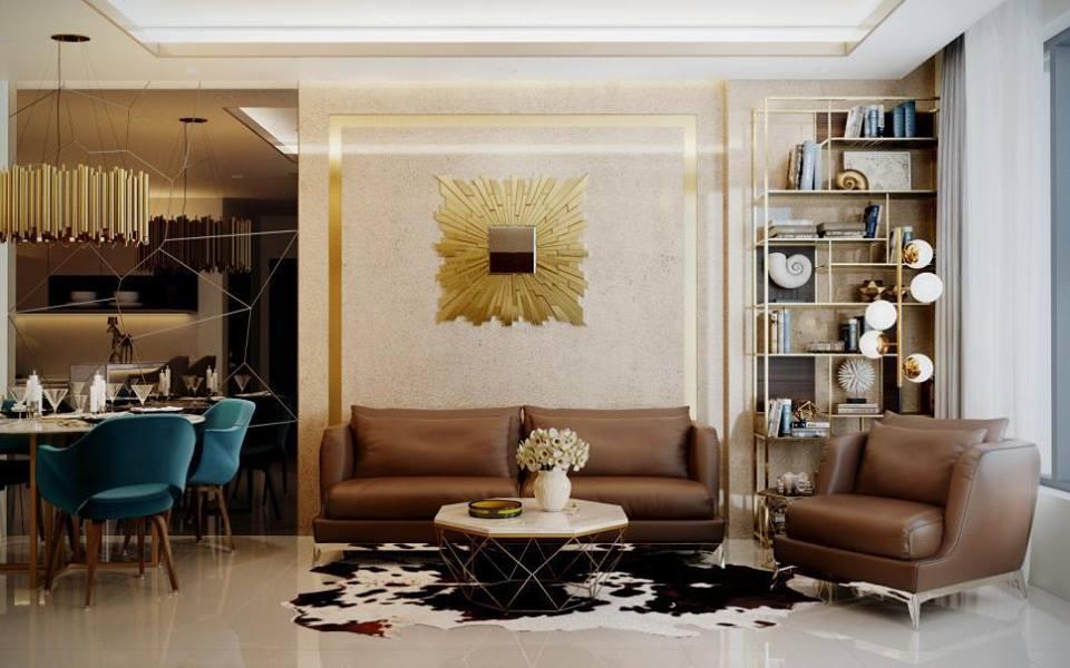Nội thất căn hộ La Cosmo Residences