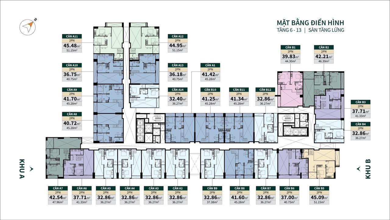 Vị trí căn hộ La Cosmo Residences 3