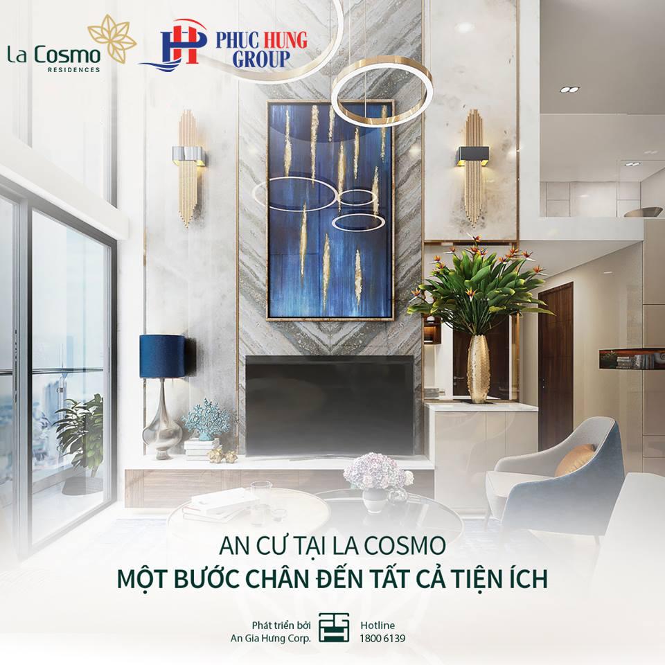 Tiện ích Vị trí căn hộ La Cosmo Residences