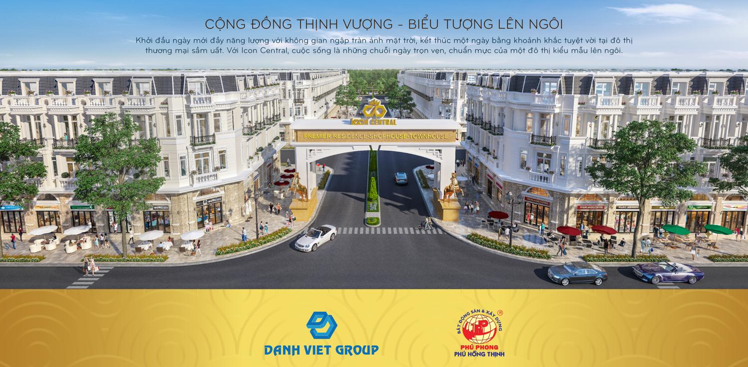 Dự án Icon Central Premier Residence