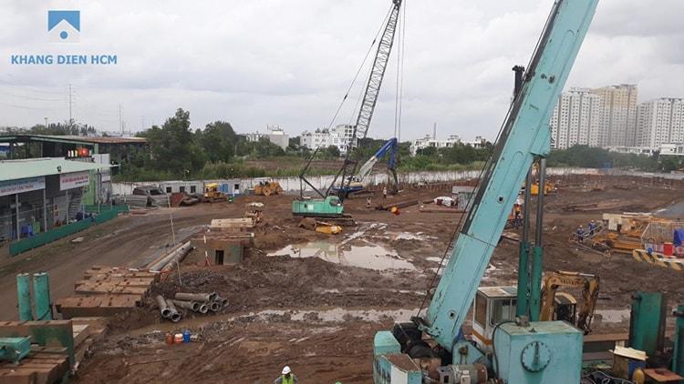 Tiến độ xây dựng dự án Safira