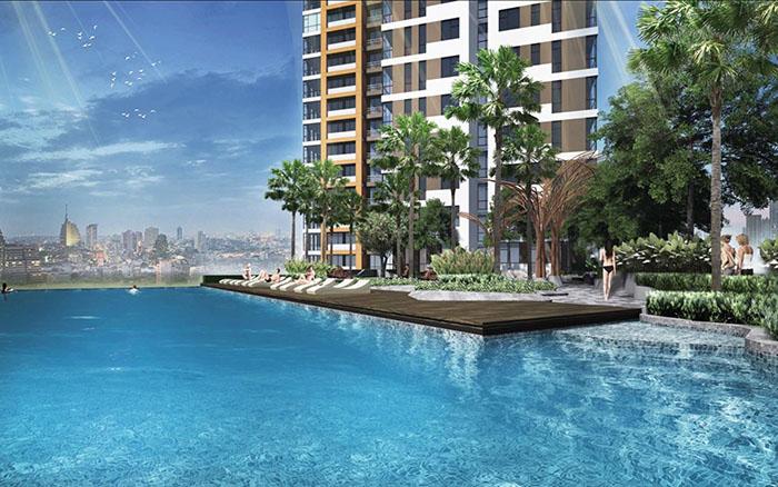 Phối cảnh Dự án căn hộ Water Bay 1