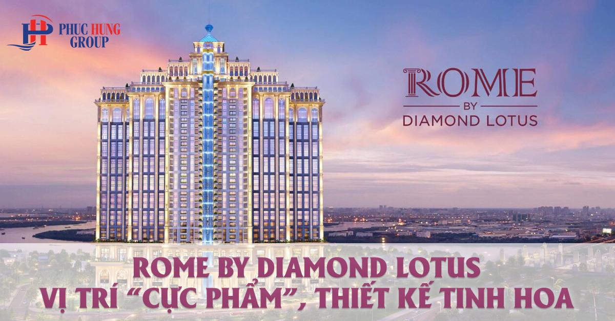 dự án rome by diamond lotus