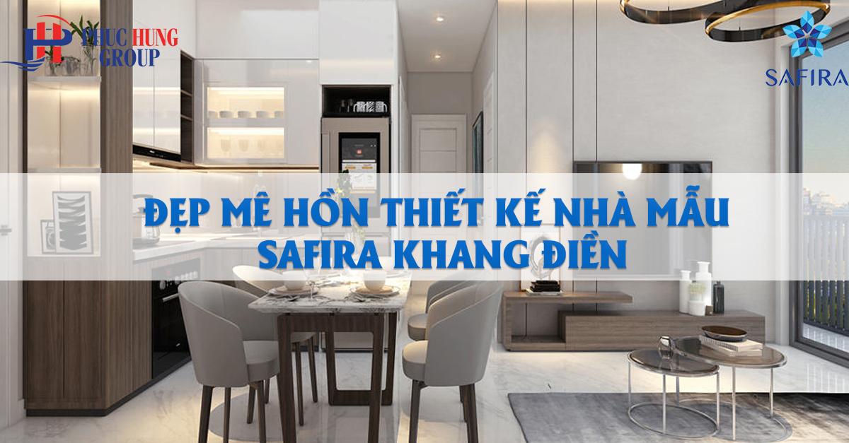 thiết kế nhà mẫu Safira Khang Điền