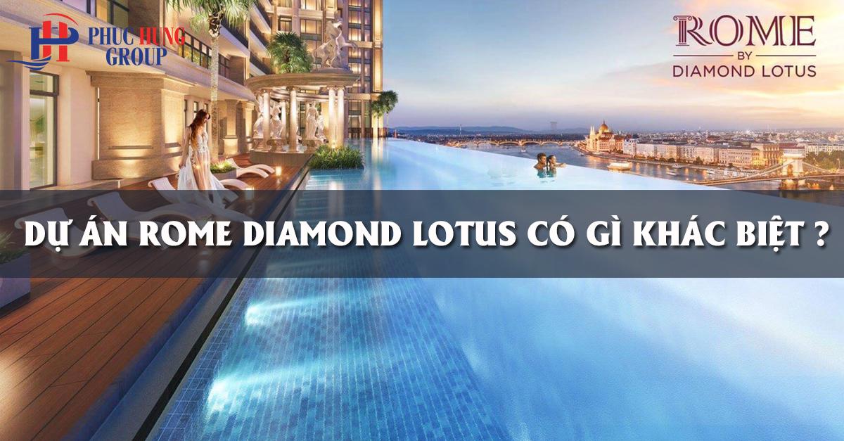 tiêu chuẩn dự án rome diamond lotus