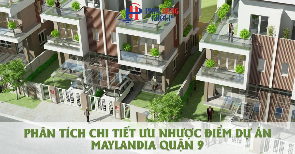 dự án đất nền Maylandia quận 9