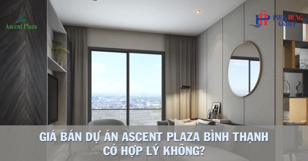 giá bán căn hộ ascent plaza bình thạnh