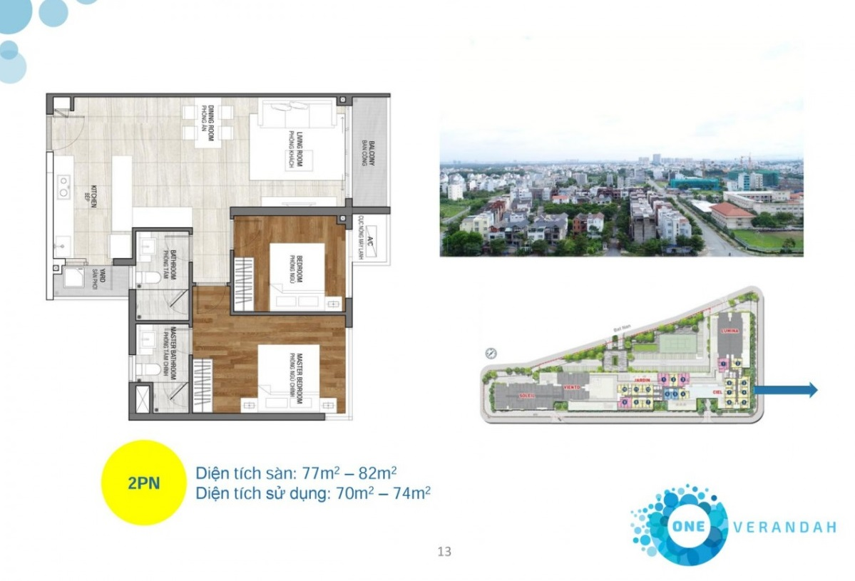 Thiết kế kiến trúc và nội thất One Verandah