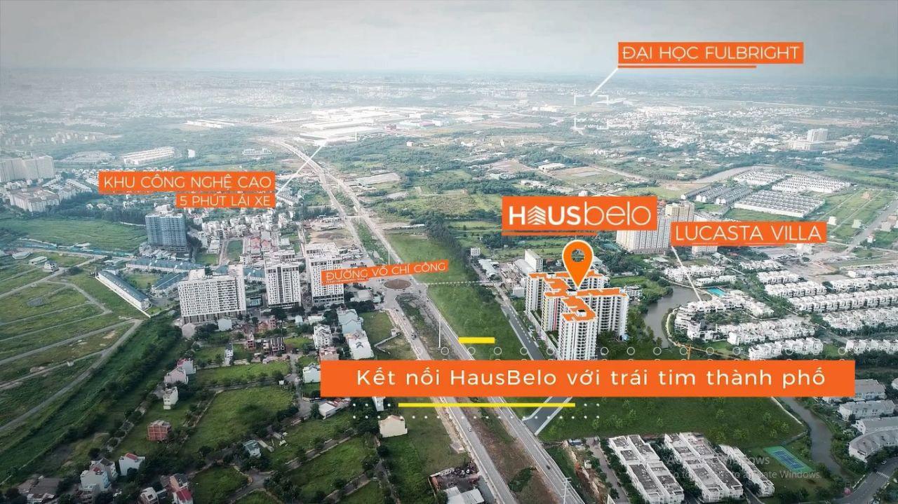 phối cảnh dự án Hausbelo quận 9