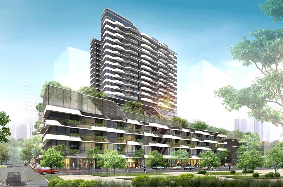 Phối cảnh dự án căn hộ The Riverin Thủ Thiêm