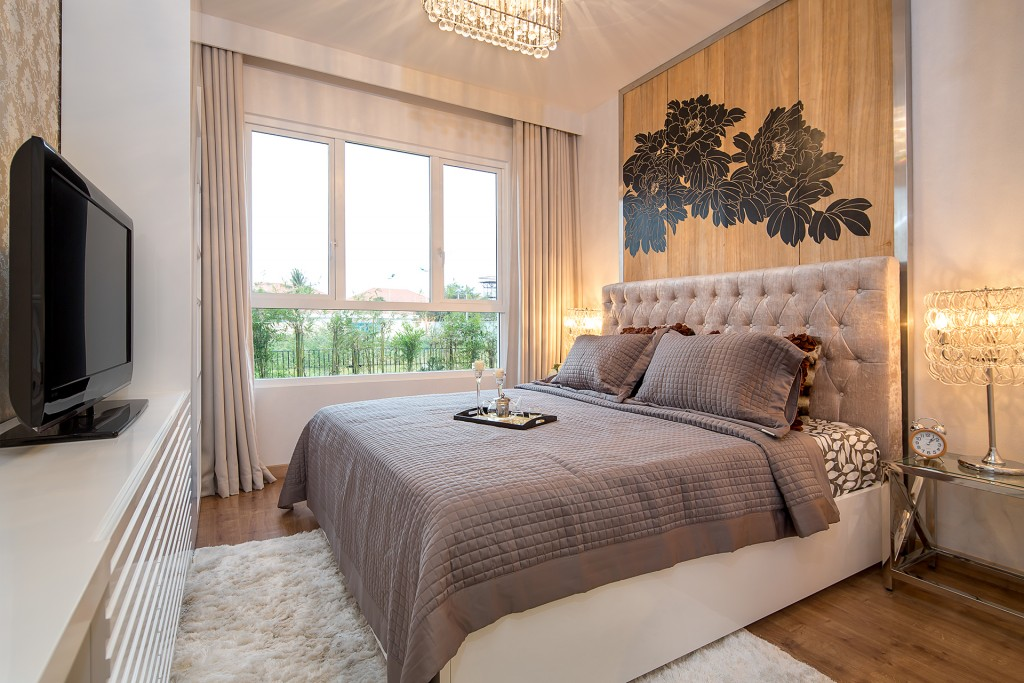 Phòng ngủ các căn hộ Metro Star