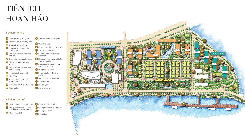 tiện ích dự án one alpha riverside quận 1