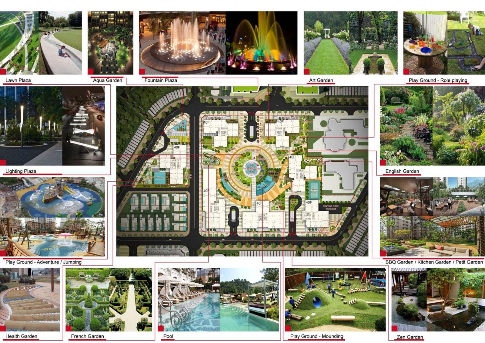 Tiện ích dự án Raemian Galaxy City Quận 2