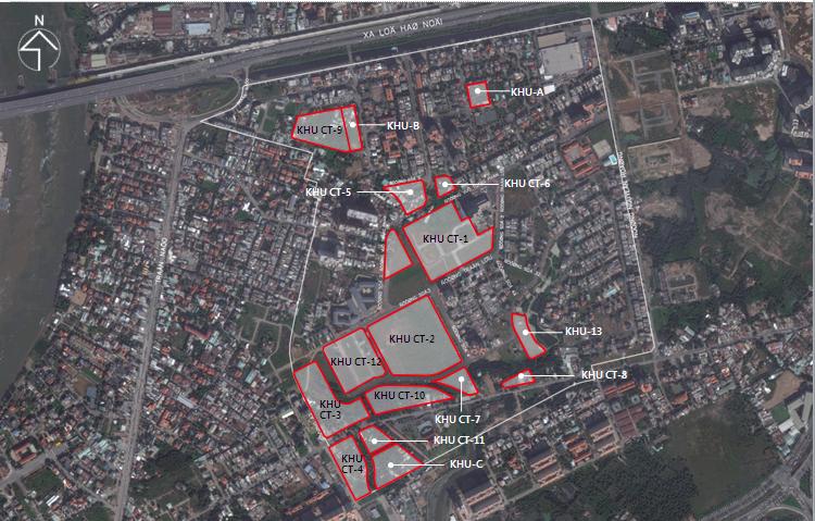 Vị trí dự án căn hộ Raemian Galaxy City Quận 2