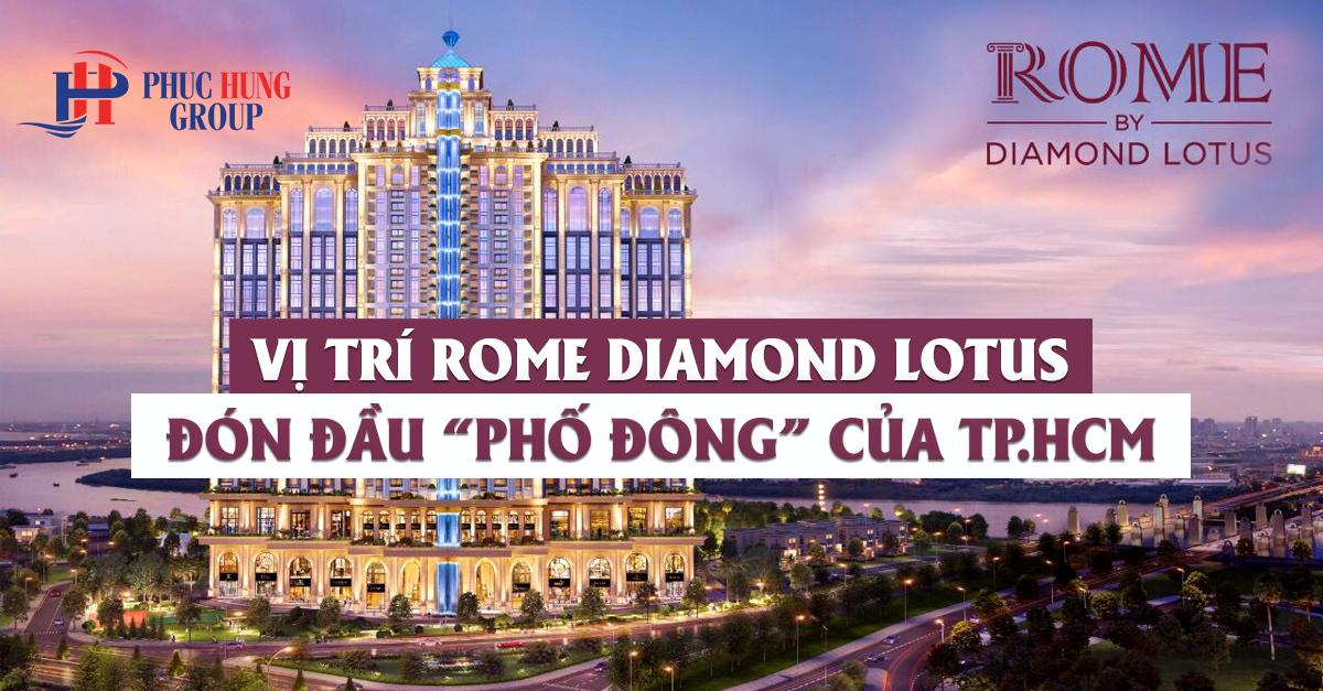 vị trí rome diamond lotus quận 2