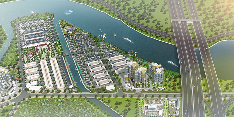 phối cảnh dự án green city quận 9