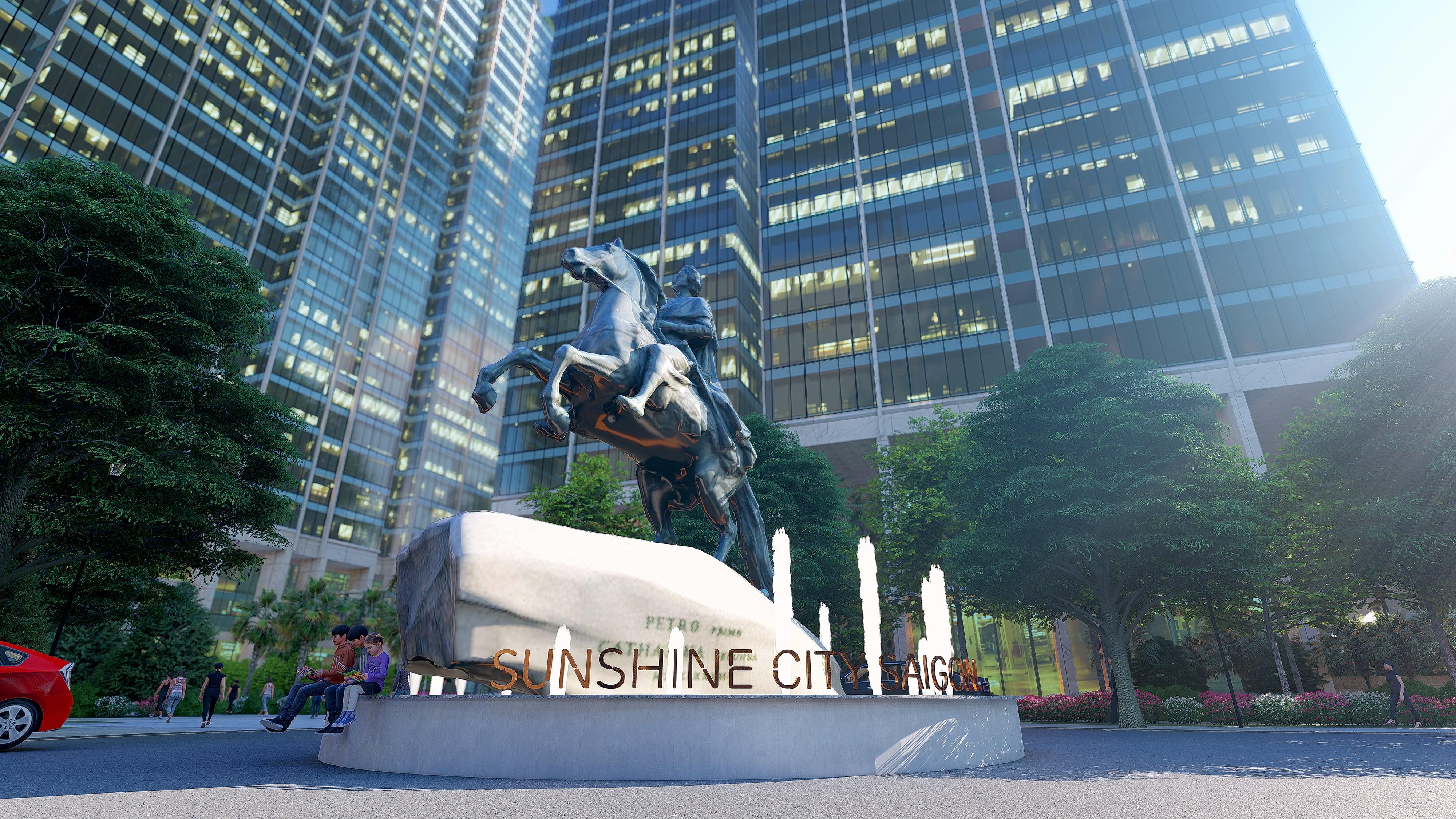 phối cảnh dự án sunshine city saigon