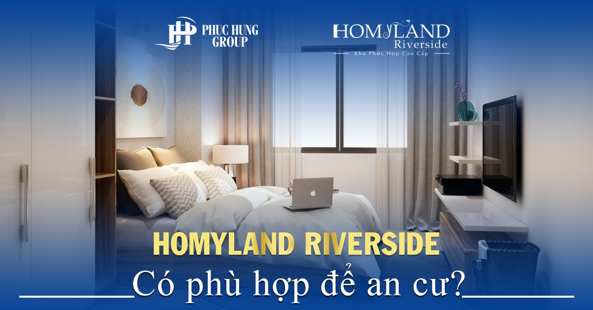 dự án homyland riverside