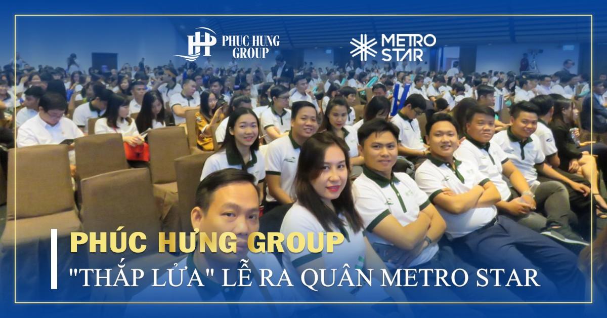 lễ ra quân dự án metro star