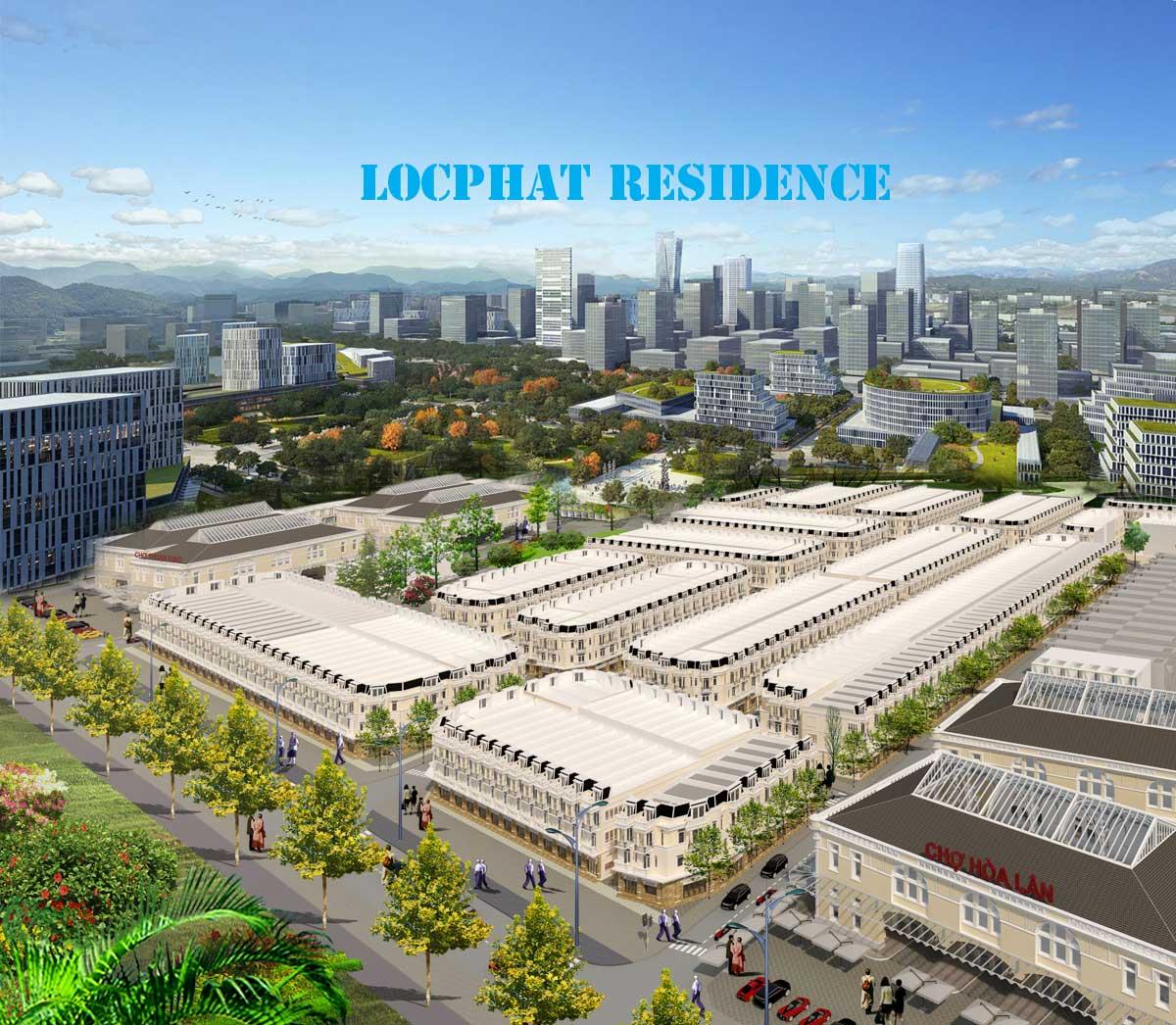 dự án đất nền lộc phát residence