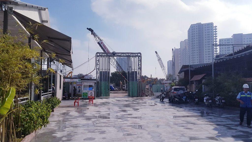 tiến độ dự án Paris Hoàng Kim