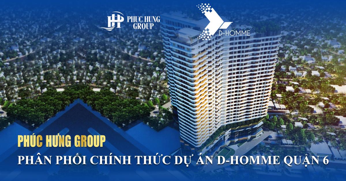 dự án d-homme quận 6