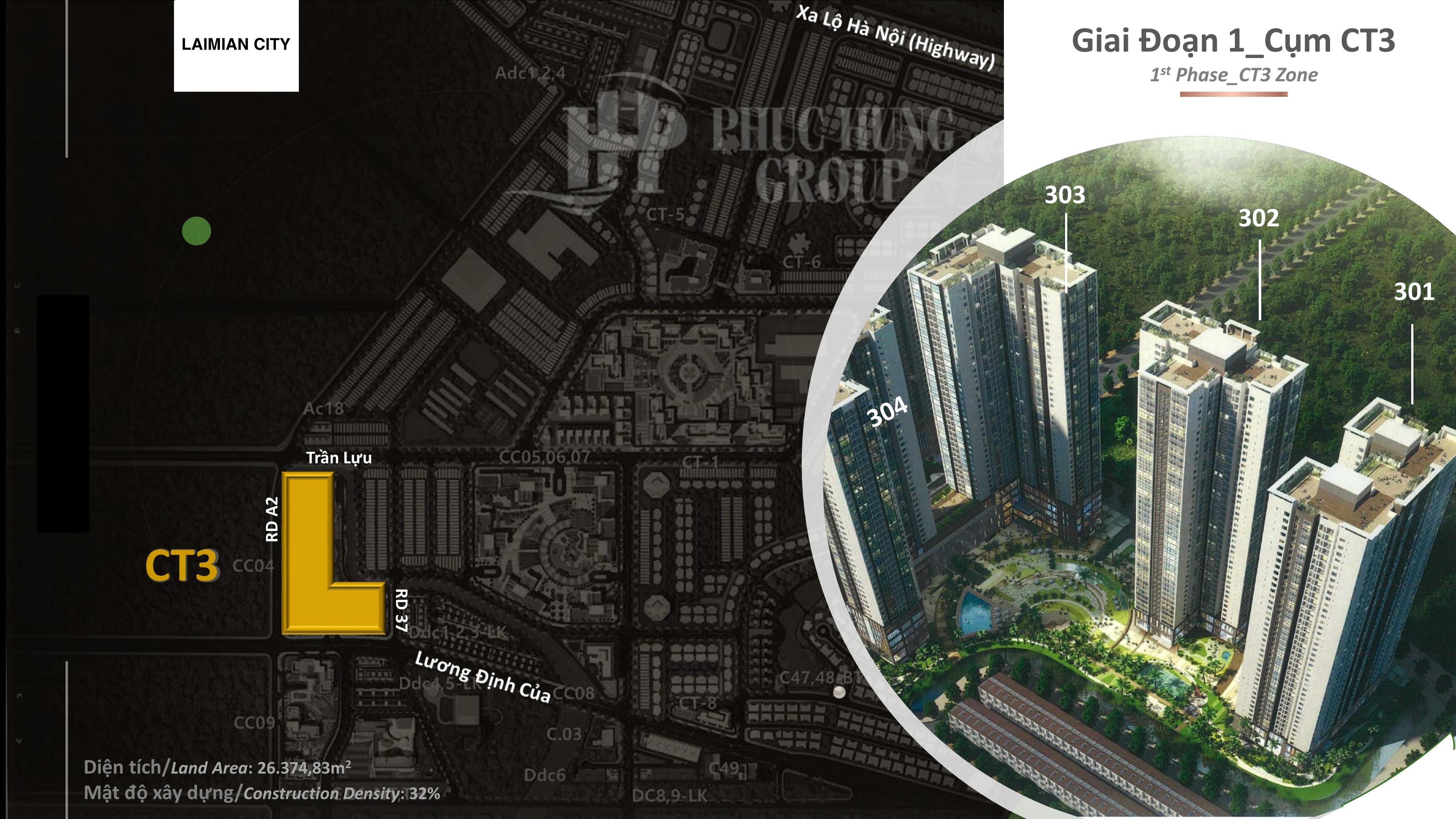 phối cảnh dự án laimian city