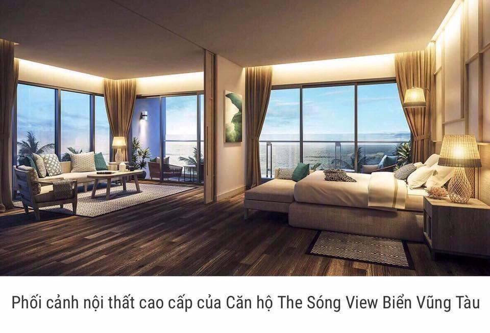 thiết kế căn hộ the sóng vũng tàu