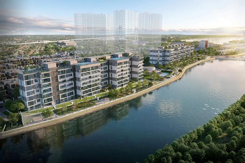 Phối cảnh dự án căn hộ biệt thự Panomax River Villa