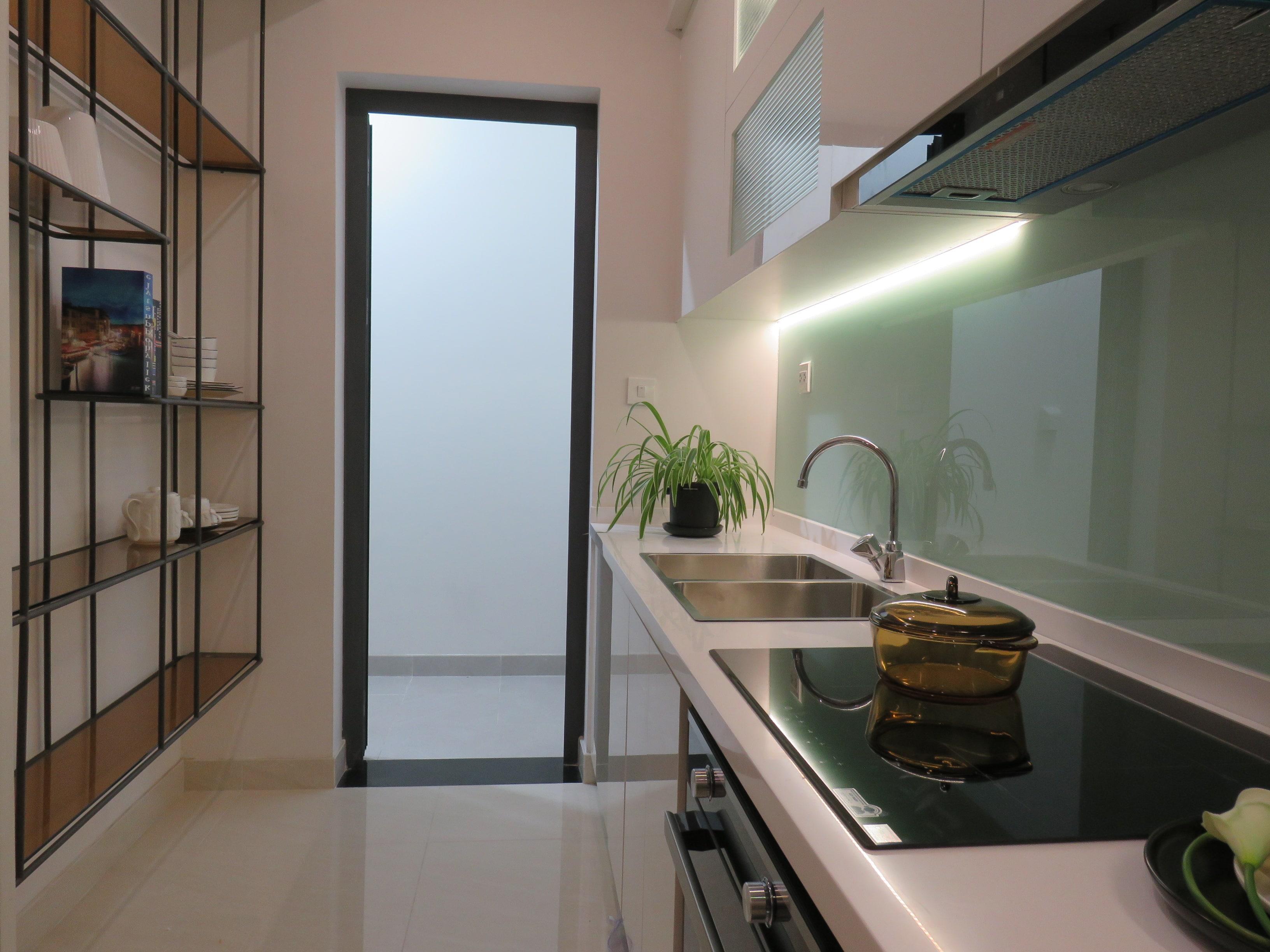 Thiết kế bếp đóng dành riêng cho người Việt chỉ có tại căn hộ D-Homme
