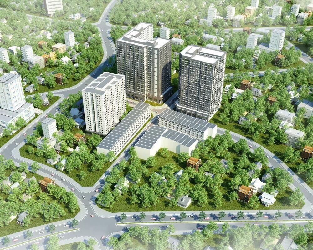 Phối cảnh dự án căn hộ Alva Plaza