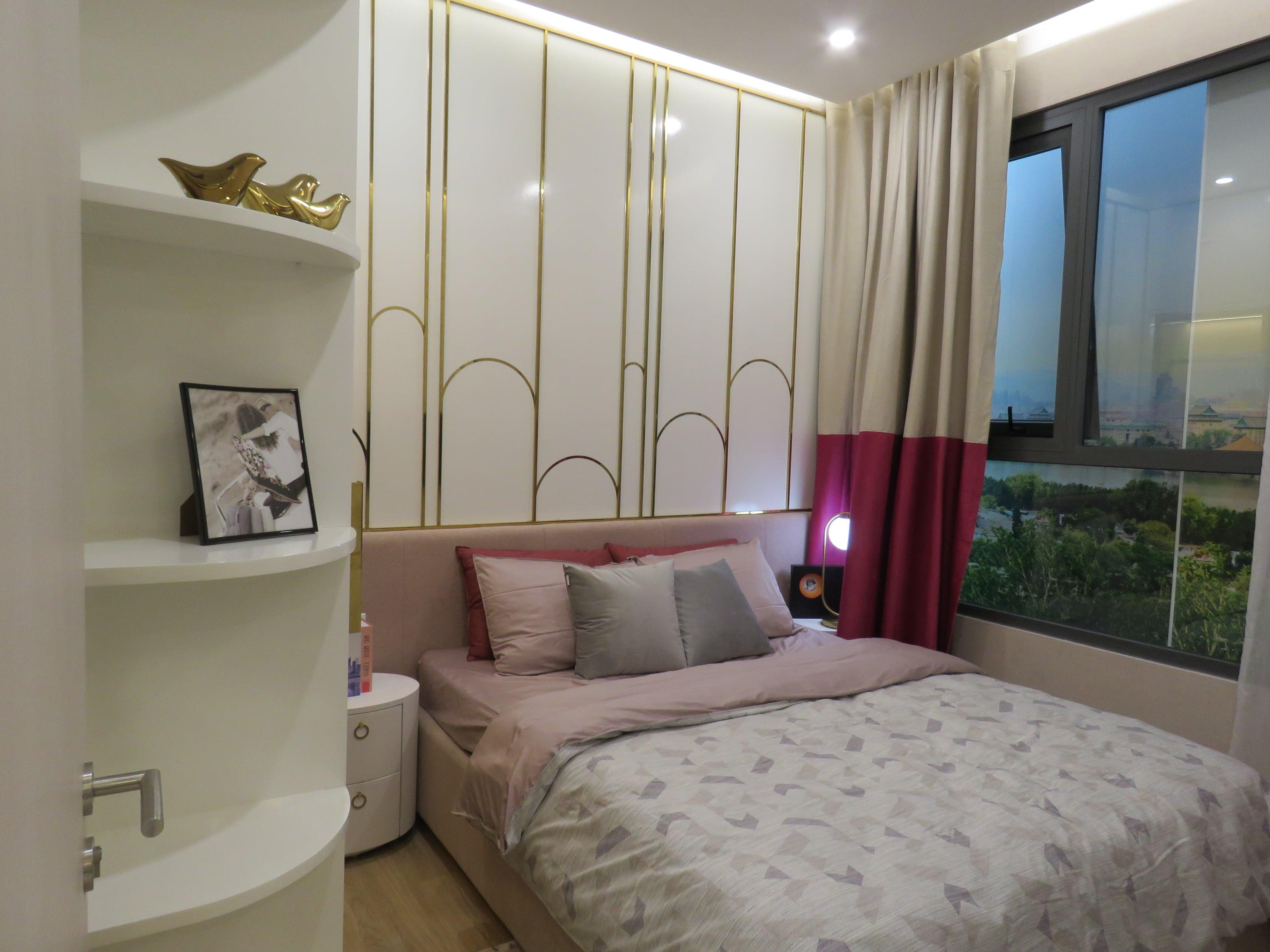 Phòng ngủ tại Nhà mẫu D-Homme