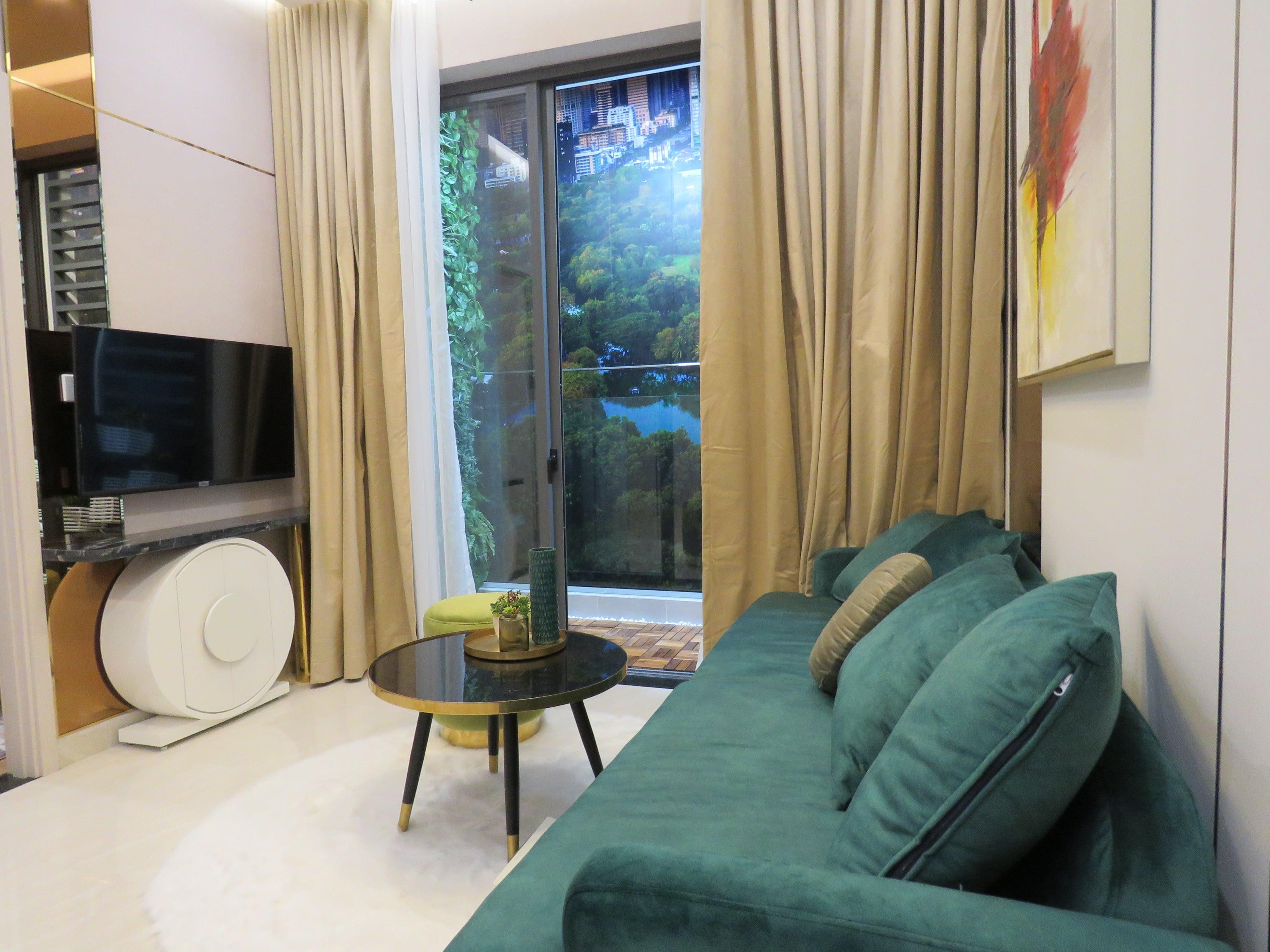 Phòng khách nhà mẫu D-Homme quận 6