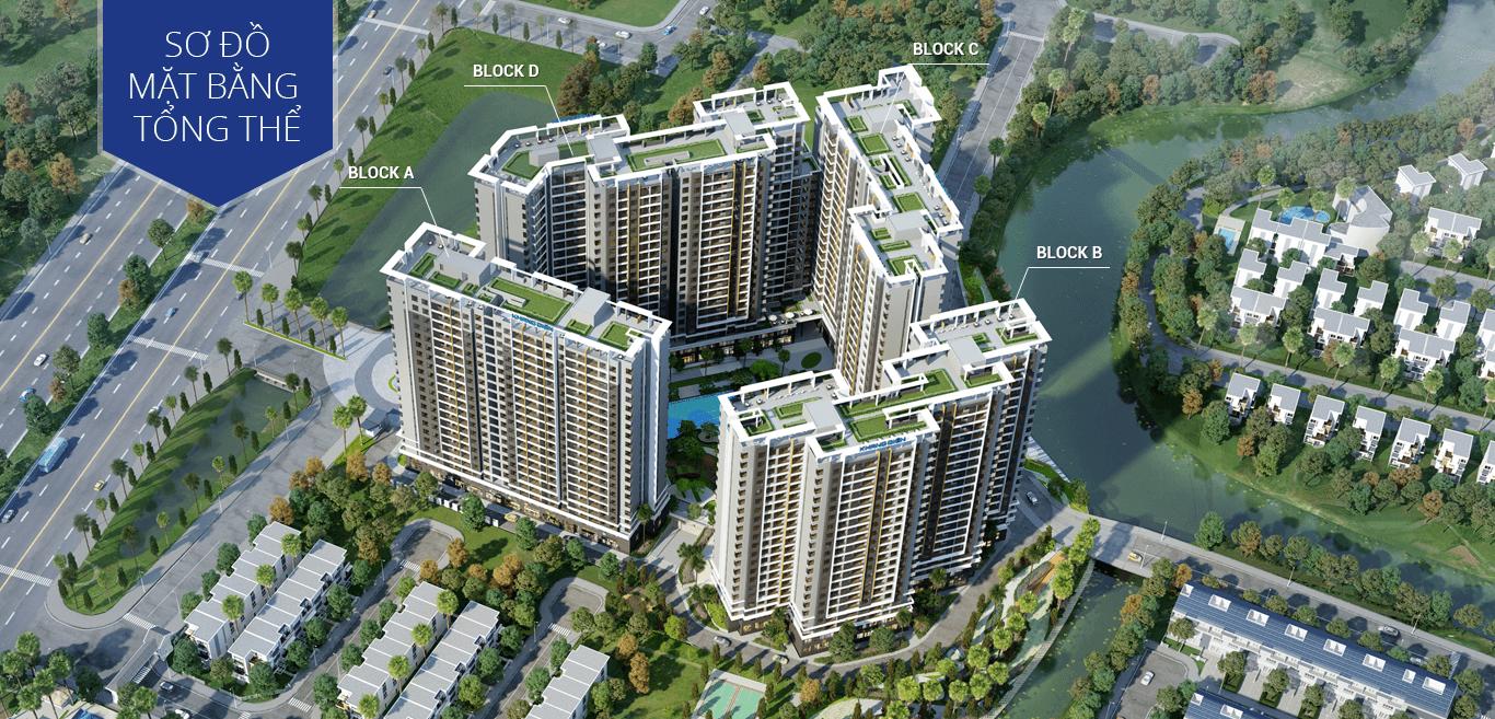 Sơ đồ mặt bằng tổng thể dự án căn hộ Safira quận 9
