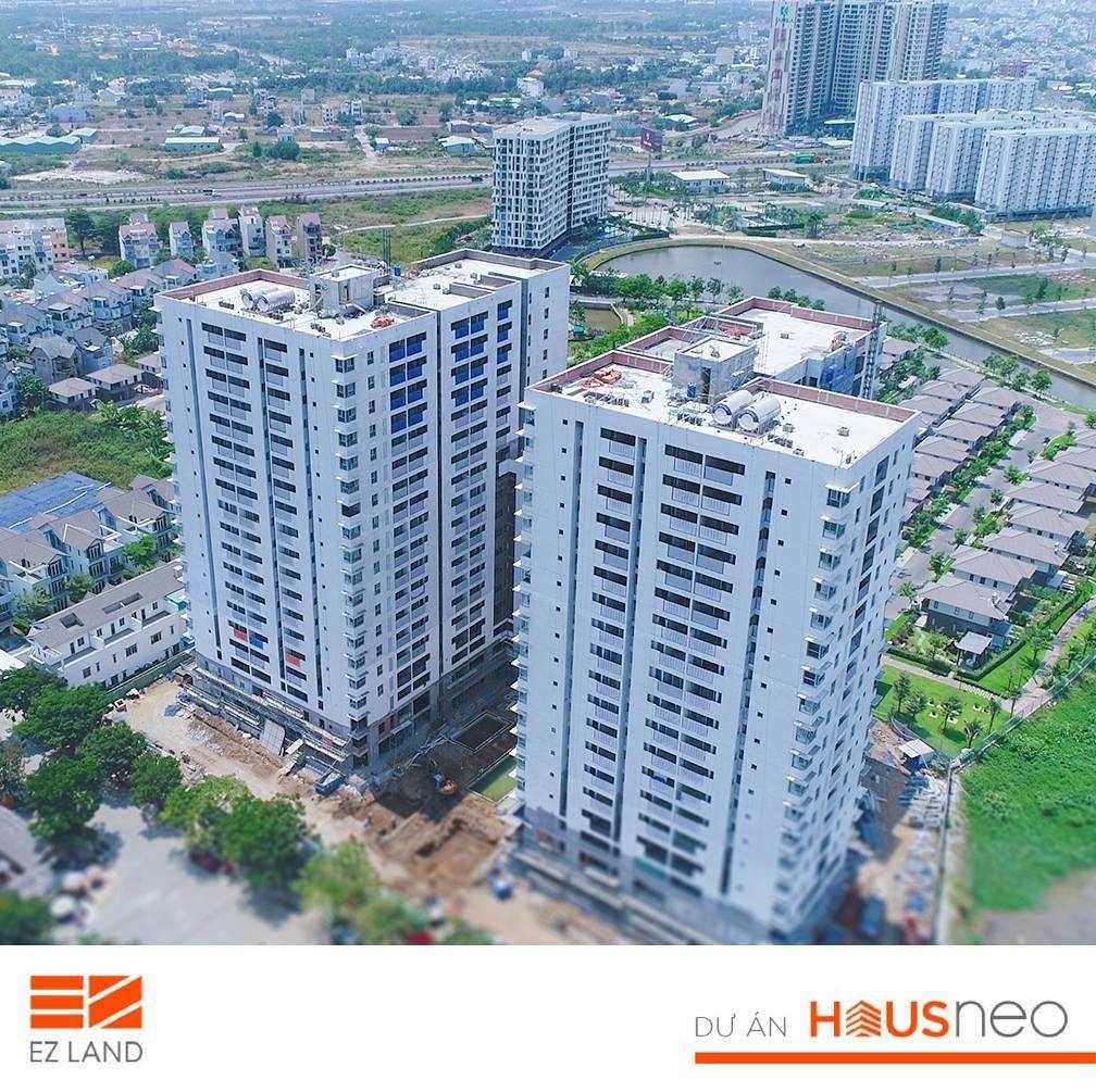 Hình ảnh thực tế dự án căn hộ HauNeos