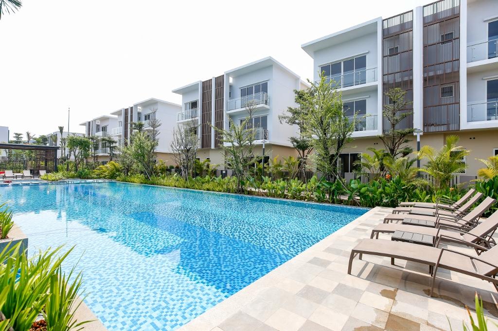 Palm Residence - Một dự án nhà phố ở quận 2, TP.HCM của Keppel Land