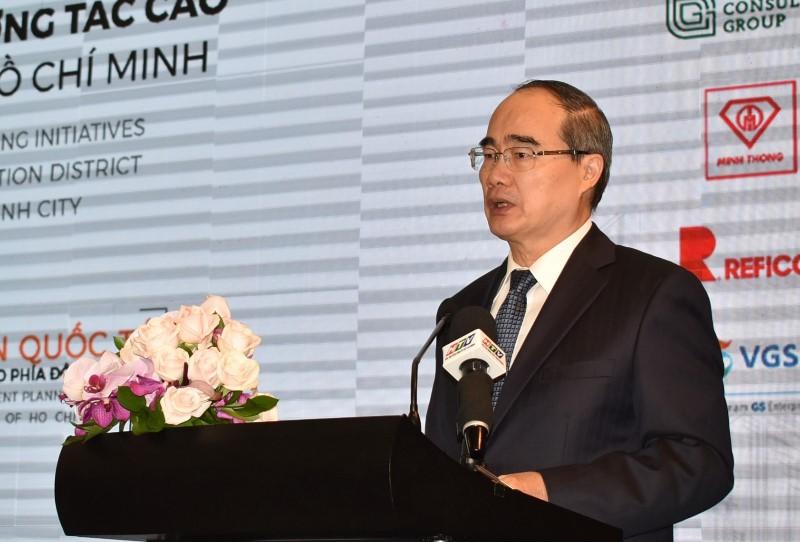 Ông Nguyễn Thành Nhân phát biểu tại Hội thảo