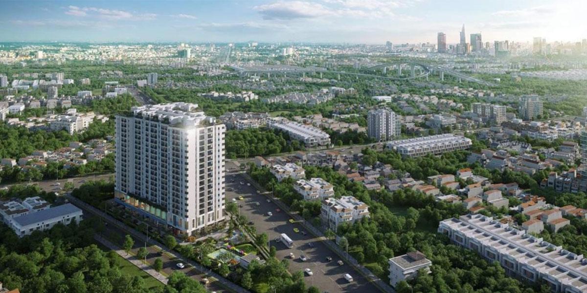 Phối cảnh dự án căn hộ Ricca
