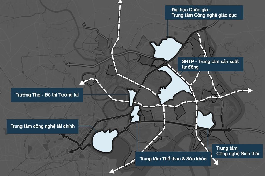 Quy hoạch đô thị sáng tạo phía Đông