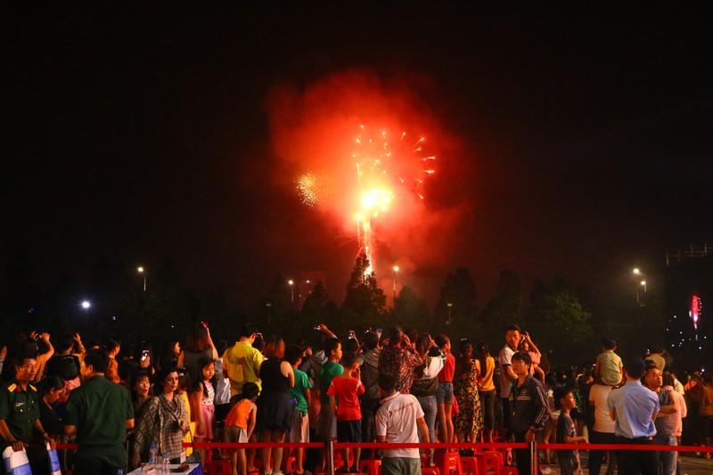 Màn trình diễn pháo hoa tại sự kiện