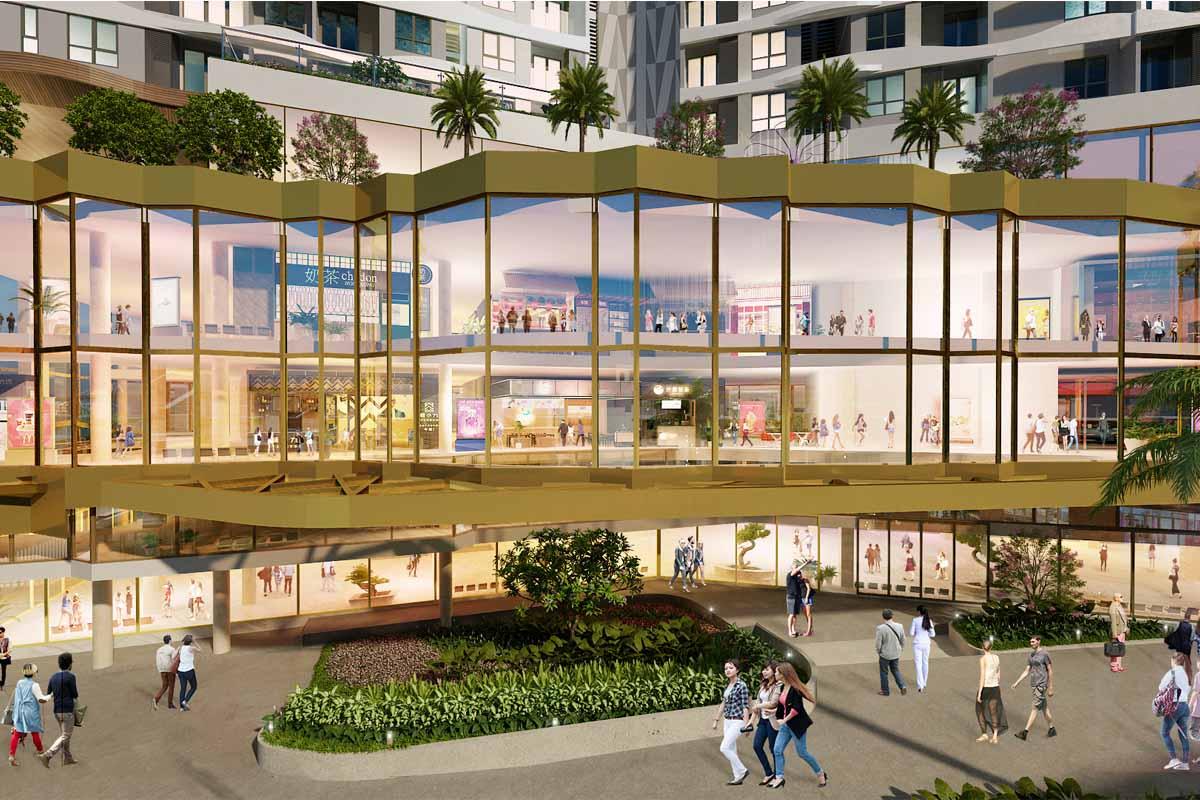 D Mall - Trung tâm thương mại Outsight đầu tiên tại TP.HCM