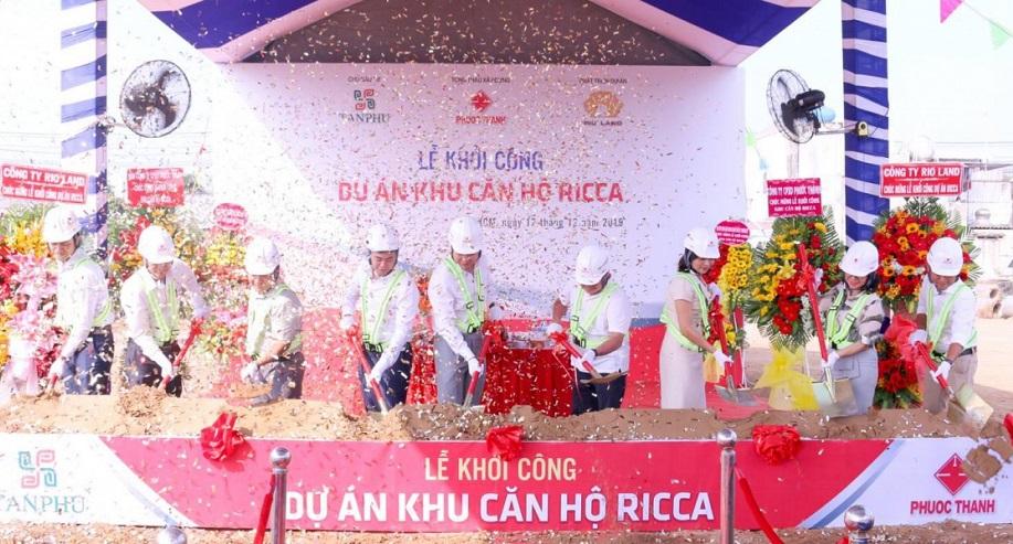 Lễ khởi công khu căn hộ Ricca