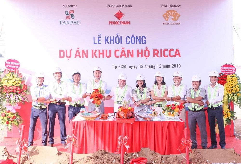 Sự hợp tác vui vẻ giữa các đơn vị thực hiện dự án Ricca