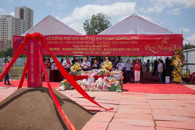 Lễ động thổ dự án Prris Hoàng Kim