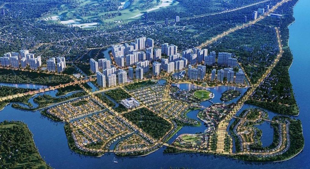 Phối cảnh dự án đại đô thị Vinhomes Grand Park