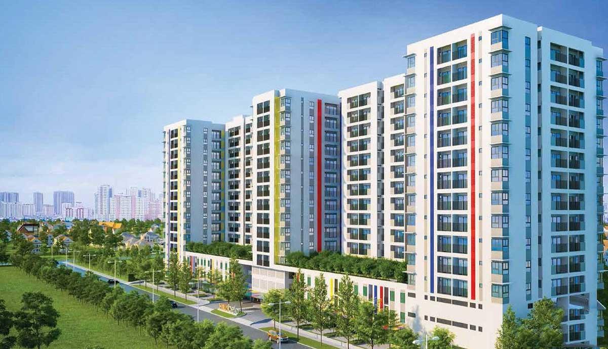 Phối cảnh dự án căn hộ HausNima