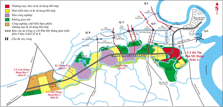 Quy hoạch khu Nam Sài Gòn mới nhất