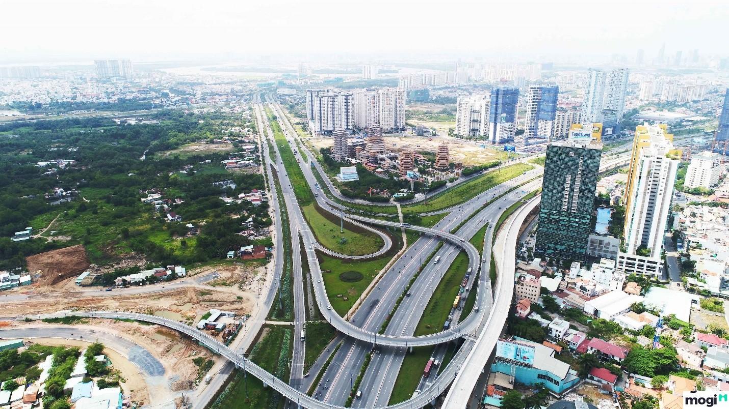 Hạ tầng Giao thông Quận 2 ngày càng phát triển hiện đại
