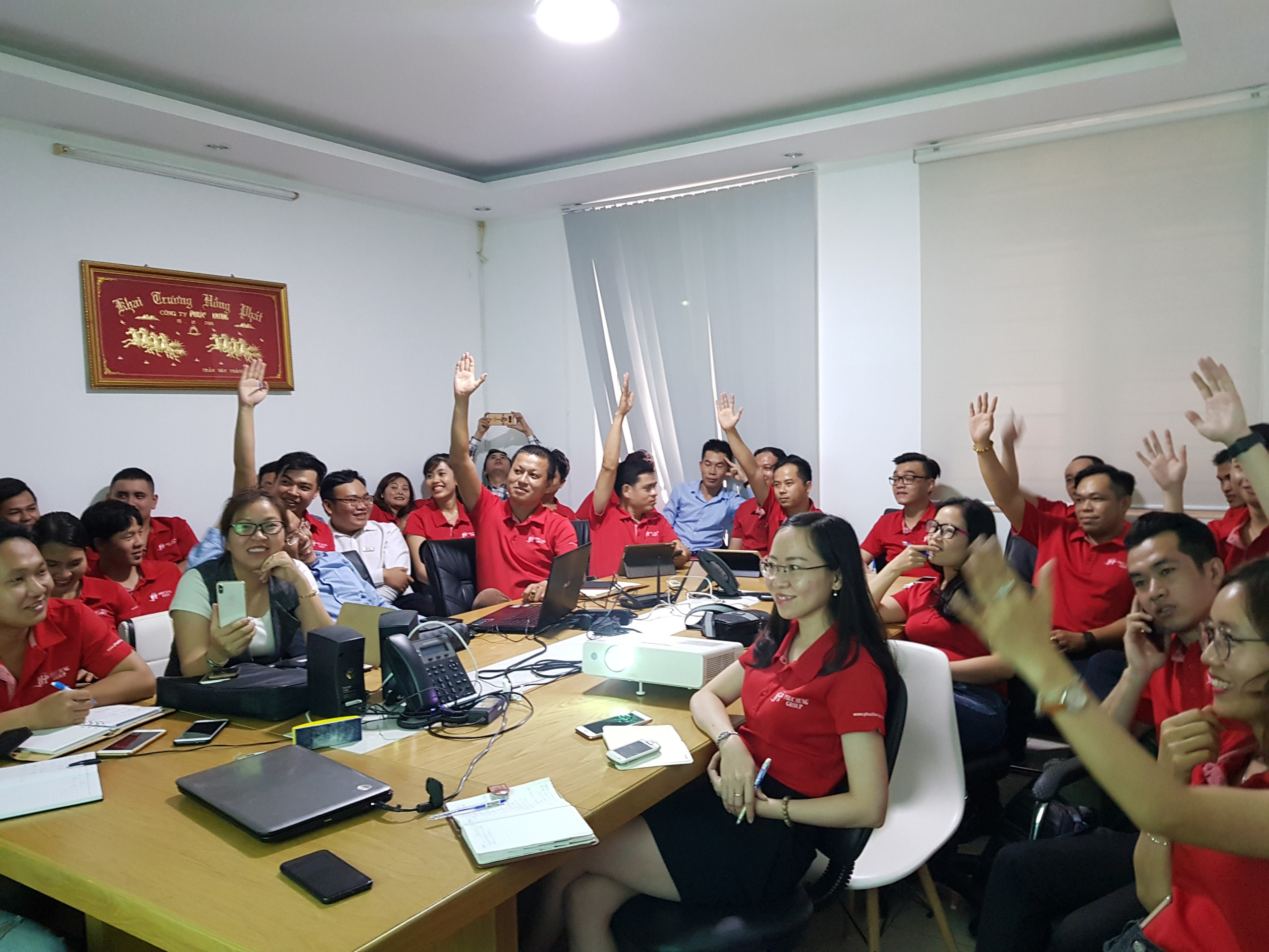 NVKD Phúc Hưng Group hào hứng đăng ký mục tiêu cho dự án mới